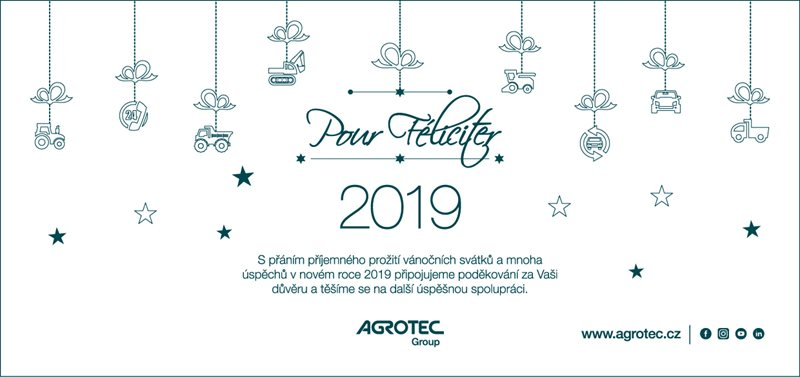 Pour Féliciter 2019 AGROTEC Group
