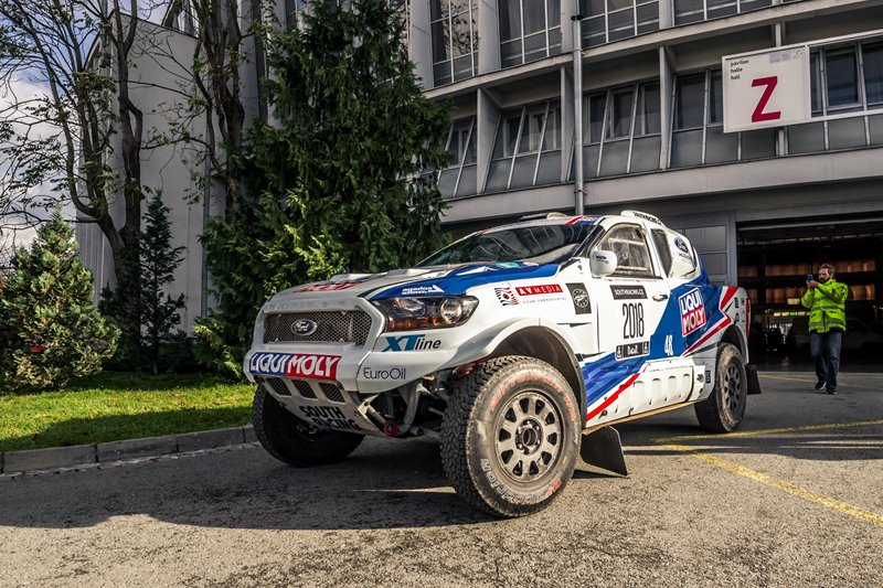 Ford Ranger Rally Dakar 2018