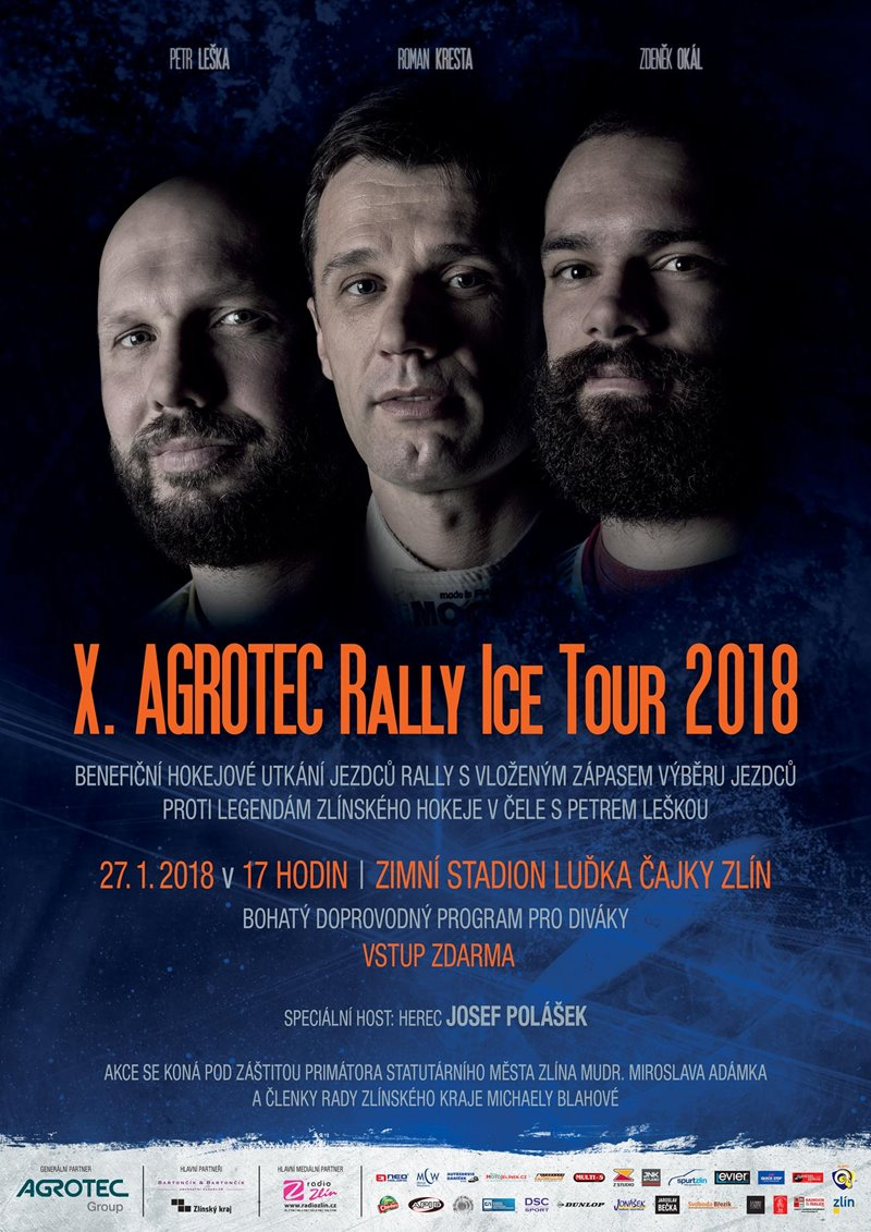 AGROTEC Rally Ice Tour 2018 Zlín